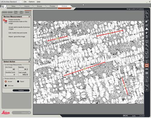 Leica Dendrite Expert徕卡晶粒度检测专家