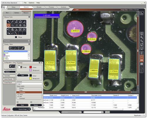Leica LAS Live Measurement活图测量模块