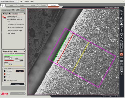 徕卡脱碳专家 Leica Decarburisation Expert