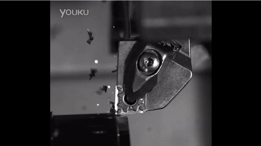 高速摄影机的应用——数控车刀切削