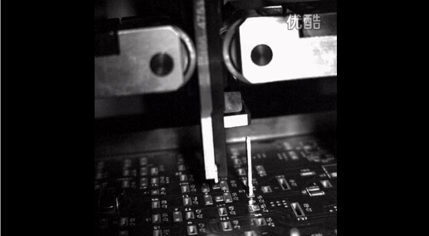 高速摄影机的应用——插针NG